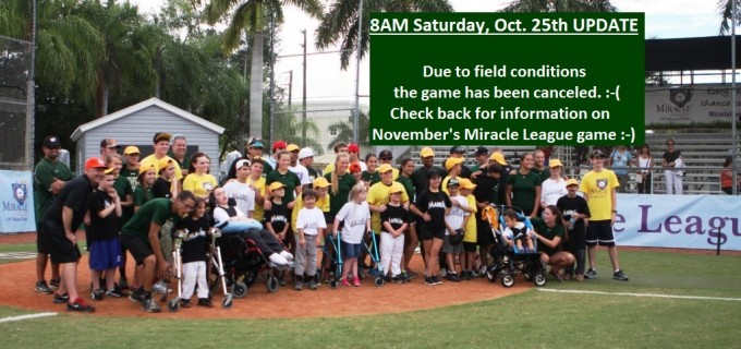 Oct 25 Game canceled